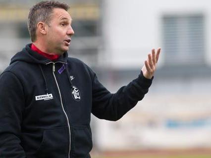 FC Lustenau Trainer Damir Canadi.
