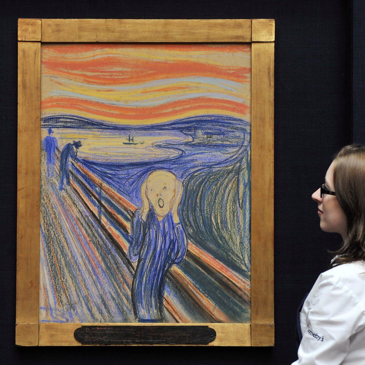 """""""Der Schrei"""" wird am 2. Mai bei Sotheby's in New York versteigert."""