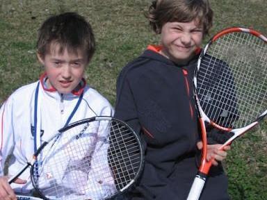 Tennisspielen in Bregenz