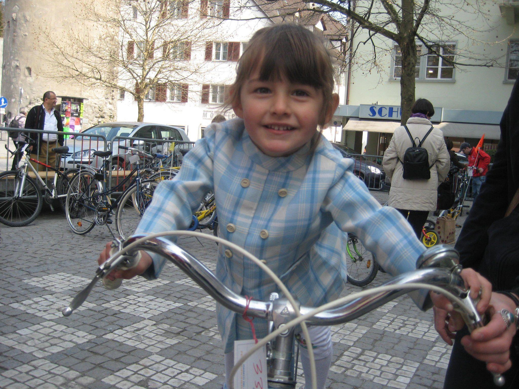 Der Fahrradtreff hat schon Tradition.