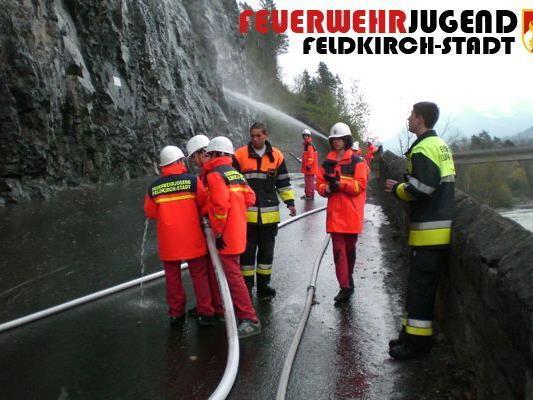 Felsreinigung 18. April 2012 durch die FWJ Stadt und Tosteres