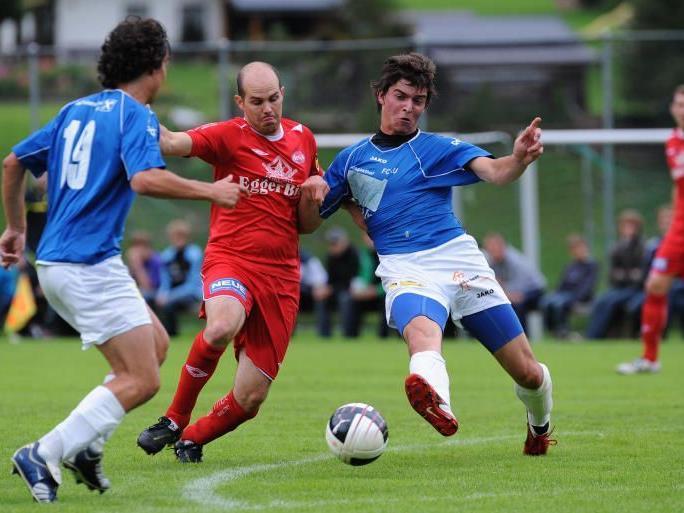 FC Au holt im Montafon drei Punkte.