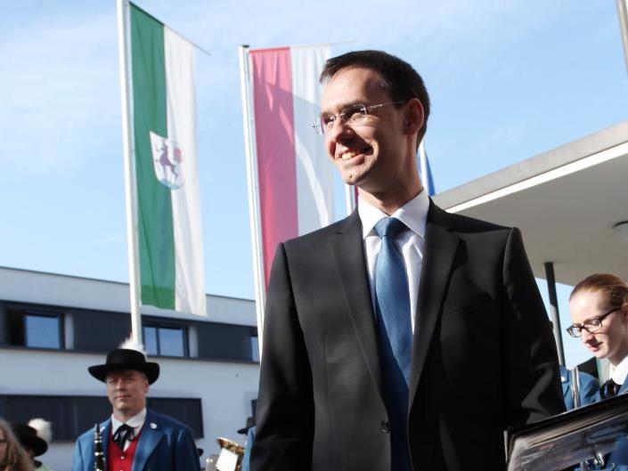Möglichkeit zu lockeren Gesprächen mit Landeshauptmann Markus Wallner.