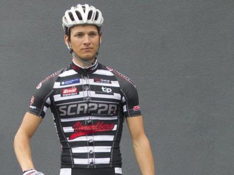 Florian Bissinger stand auf dem Podest.