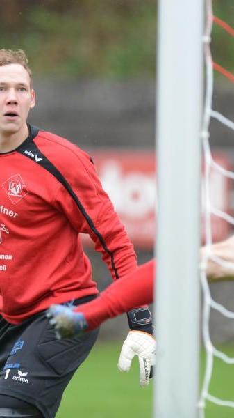 Rankweil-Tormann Markus Breuss will seinen Kasten sauber halten.