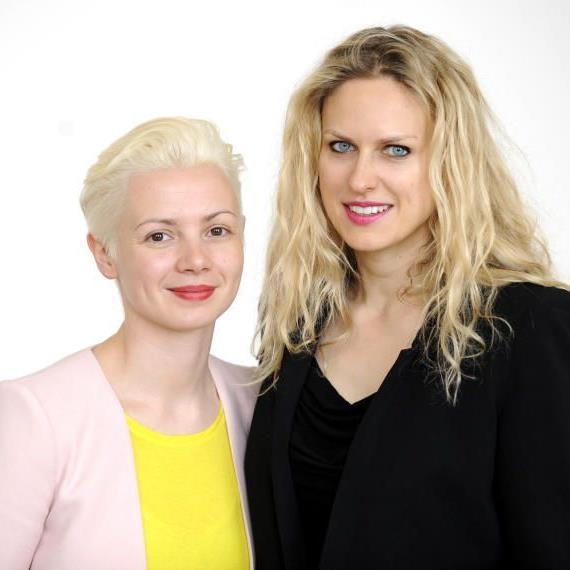 Christina Steinbrecher und Vita Zaman, das neue Führungsteam der Viennafair