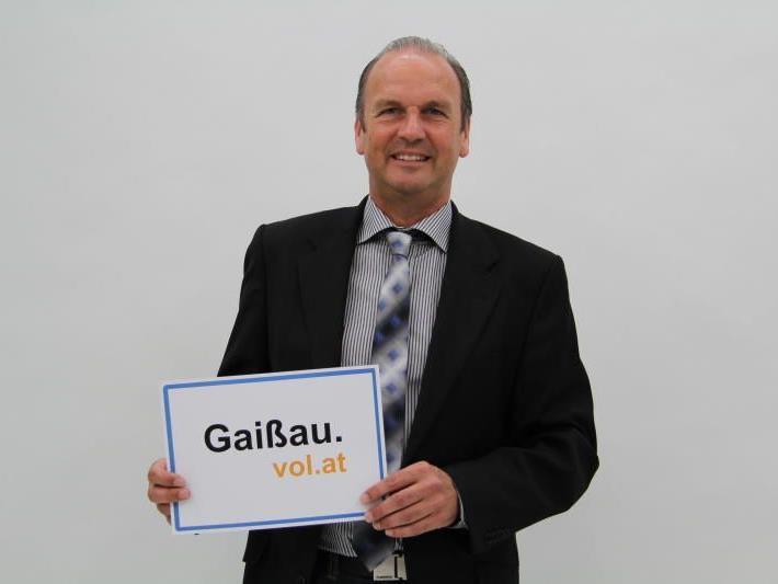Laut Reinhold Eberle nimmt Gaißau in puncto Trinkwasser eine Sonderstellung ein.