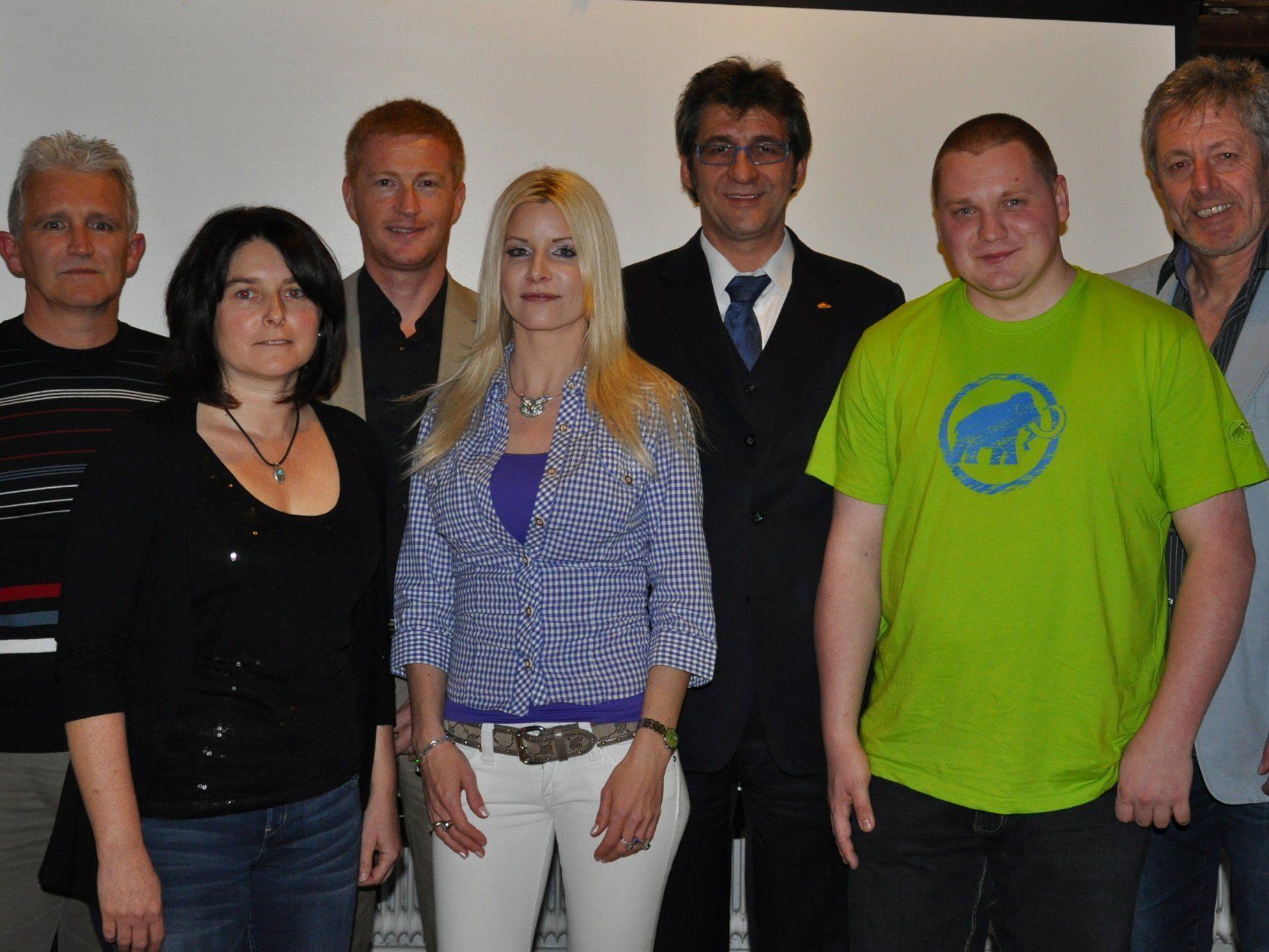 Der Vorstand des FFC fairvesta Vorderland.