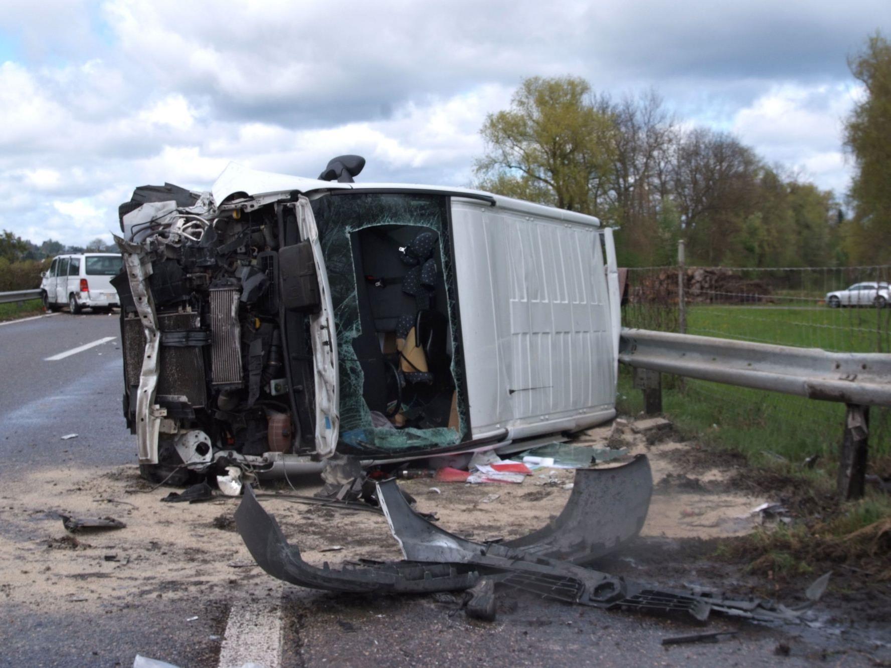 Für ein Unfallopfer kam jede Hilfe zu spät