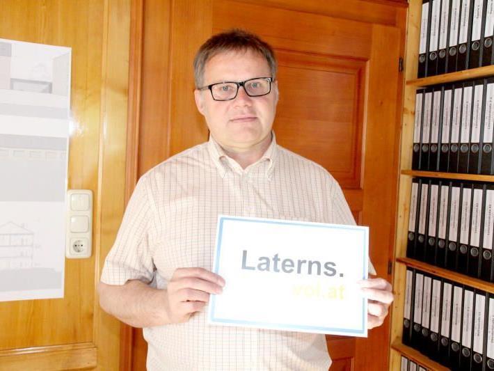 Laternser Bgm. Nesensohn über Großprojekte der Gemeinde sowie die schwierige Situation der Nahversorger.
