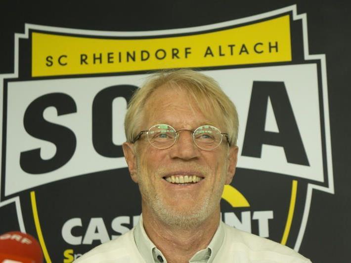 SCRA-Coach Edi Stöhr gibt am Samstag sein Debüt.