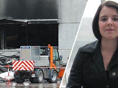 Katharina Gross hat die Explosion miterlebt.