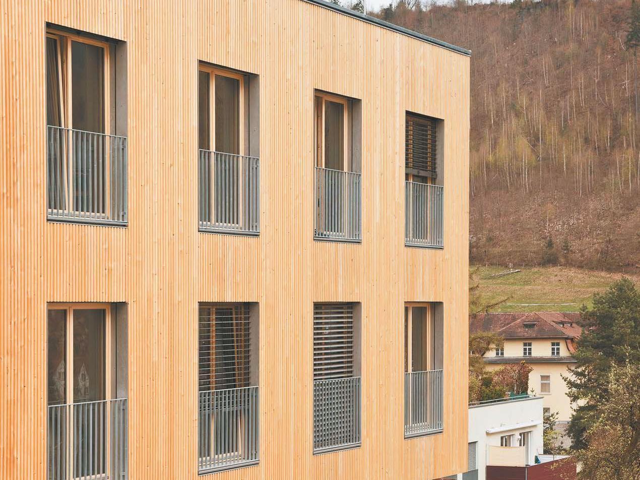 Seniorenheim und Kindergarten am Blasenberg in Feldkirch wurden nicht nur generalüberholt, sondern mit einem Neubau doppelt so voluminös.