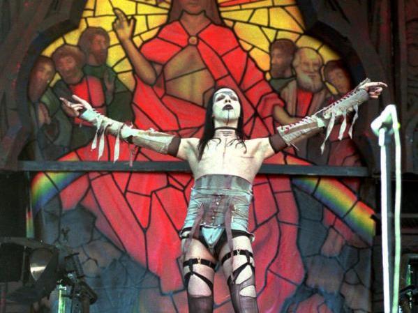 Gehasst und vergöttert: Schock-Rocker Marilyn Manson bewegt die Gemüter.