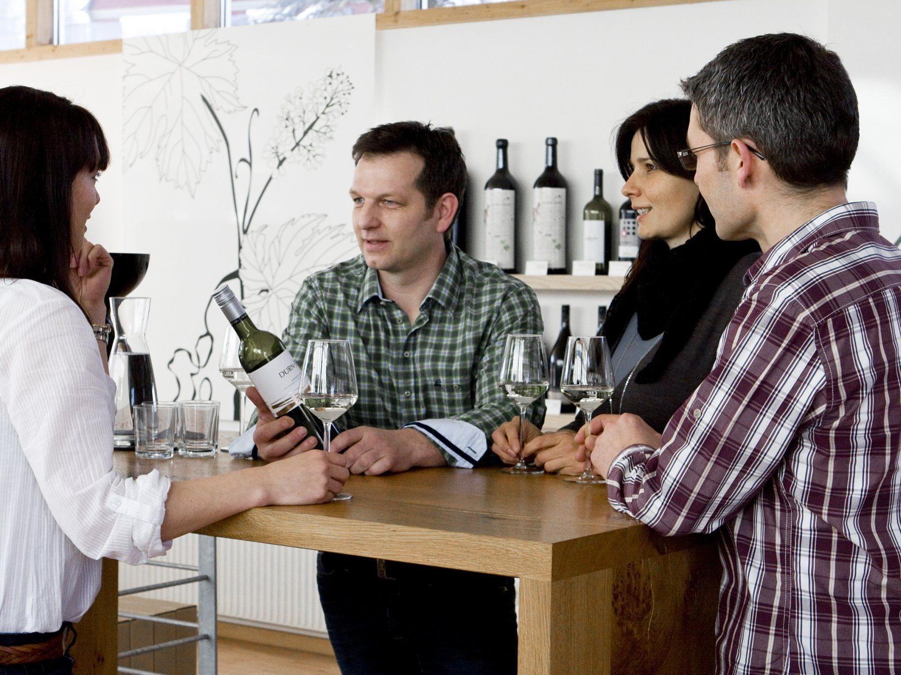 Weinmesse-Organisator Martin Fink bringt persönlich ausgewählte Winzer in den Bregenzerwald.