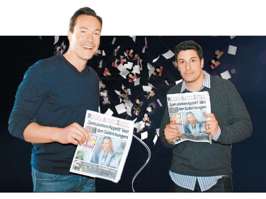 """Die beiden Stars von """"American Pie 4"""" – Chris Klein und Jason Biggs – waren begeistert."""