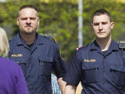 Zehn Messe-Polizisten waren in Dornbirn im Einsatz.