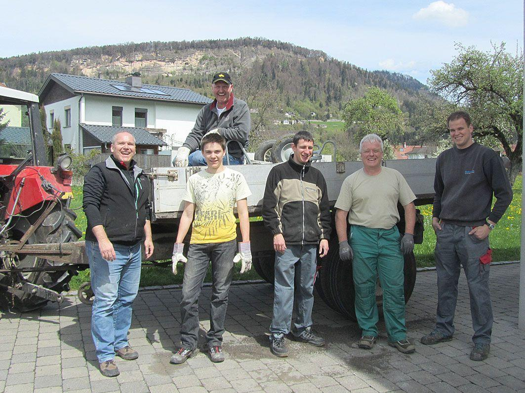 Das Team des ÖAAB Wolfurt.