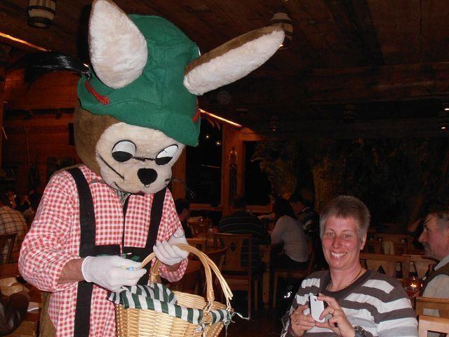 Der Osterhase besuchte den Erlebnisgasthof nicht mit leeren Händen