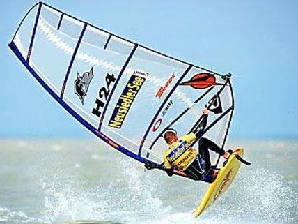 Surf-Stars aus aller Welt kommen nach Podersdorf zum Surfworldcup.