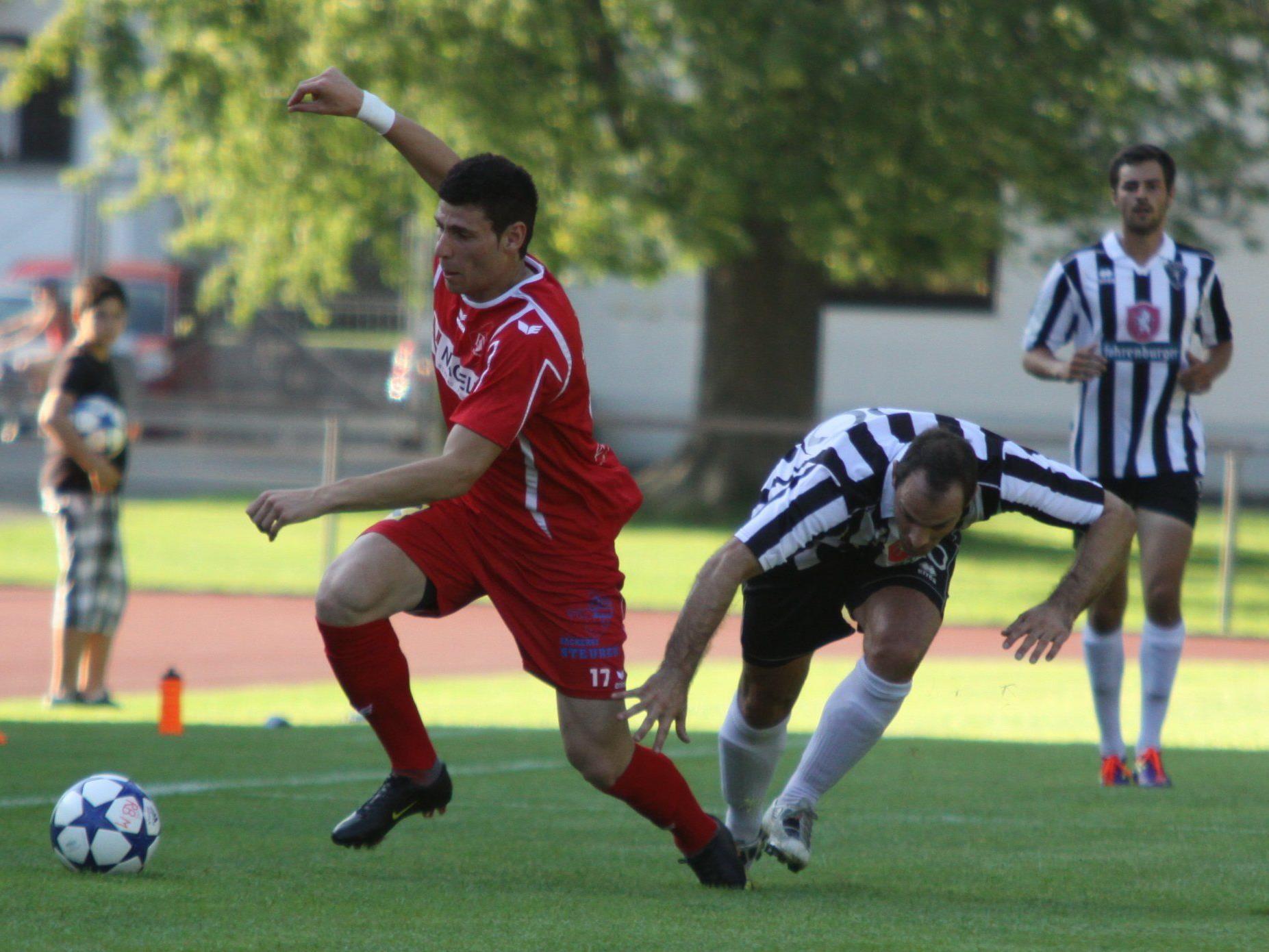 Adem Kum erzielte für RW Rankweil den Ausgleich.