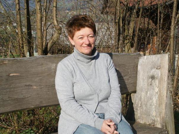 Theresia Handler entspannt sich am liebsten in ihrem Garten