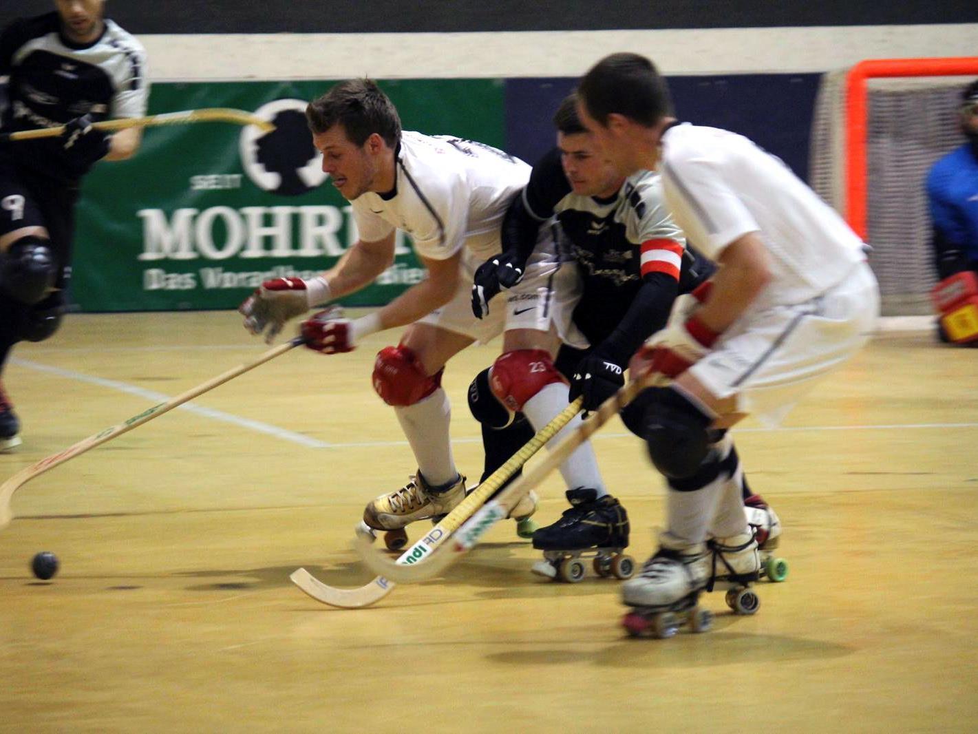 RHC Dornbirn schied im Schweizer Pokalbewerb aus.