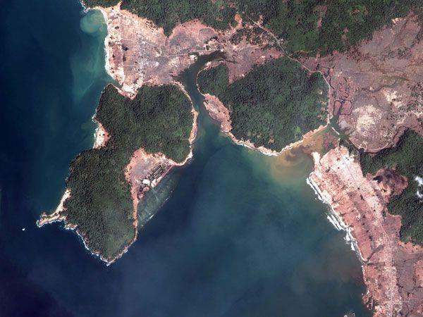 Zone wird häufig von Beben und Vulkanausbrüchen heimgesucht.