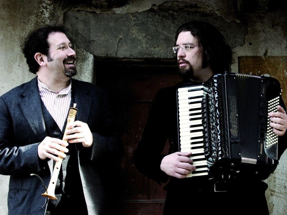 Stefano Valla und Daniele Scurati konzertieren im Rahmen von Kultur Bludenz.