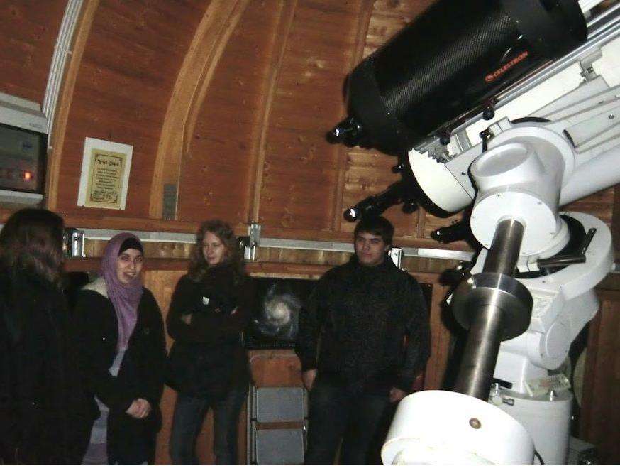 Besuch in der Sternwarte