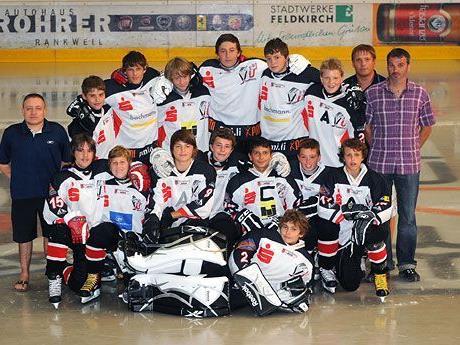 Das U15 Team der FBI VEU Feldkirch