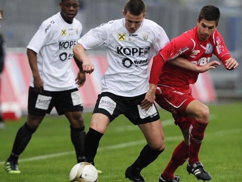 Youngster Fabian Flatz gastiert mit Altach Amateure in Kufstein.