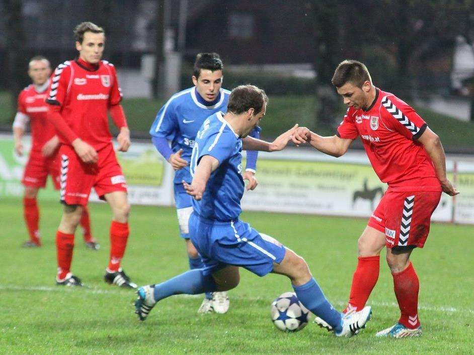 Dornbirn 1b verlor das Stadtderby gegen Admira knapp mit 2:3-Toren.