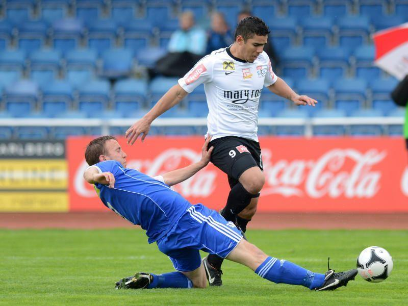 Vinicius Gomes Maciel traf gegen Kufstein ins Schwarze.