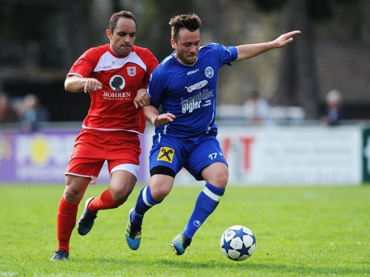 FC Hard will gegen Schlusslicht Hall gewinnen.
