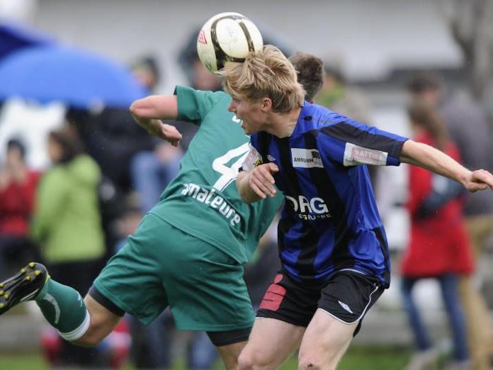 Rochus Schallert besorgte den 4:1-Endstand für Nenzing gegen Leader Austria Lustenau Amateure.