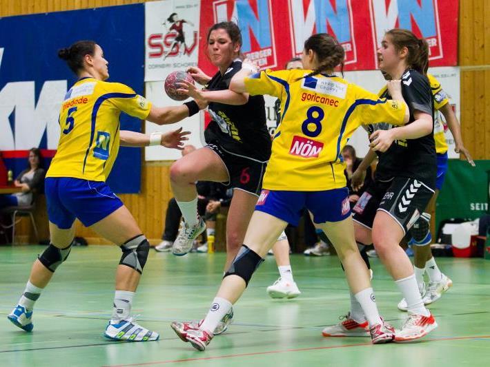 Johanna Rauch warf viele Tore und spielte auch sonst gut.