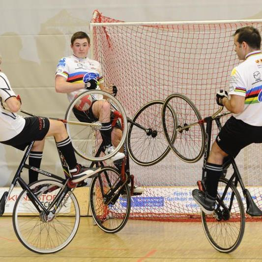 Radballer ermitteln den Landesmeister.