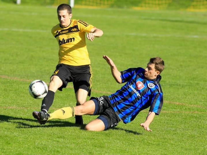 FC Höchst gewann gegen Bludenz mit 3:2.