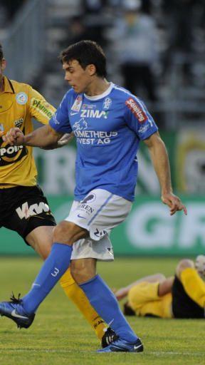 Elias Kircher spielt seit heuer für Austria Salzburg in der rechten Abwehrposition.