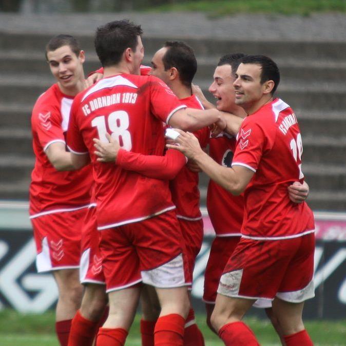FC Dornbirn jubelt über einen 2:0-Sieg beim Schlusslicht Hall.