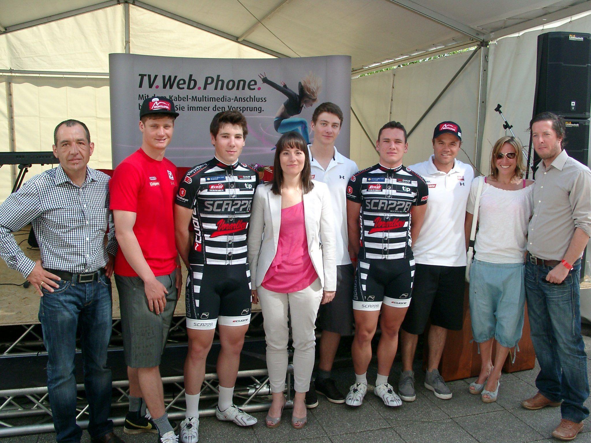Rankweil war am Samstag Treffpunkt von Olympiasieger und Weltmeistern.