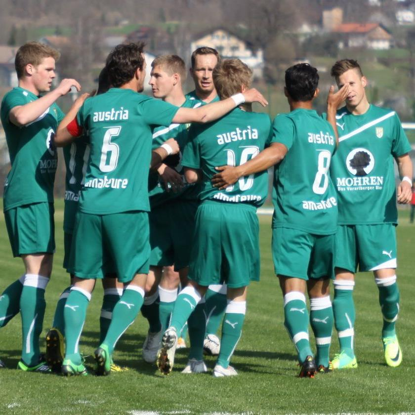Austria Lustenau Amateure will am Karsamstag jubeln.