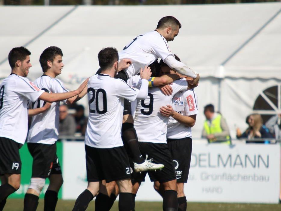 Rivella SC Bregenz möchte am Karsamstag gegen Kufstein im Casinostadion über drei Punkte jubeln.