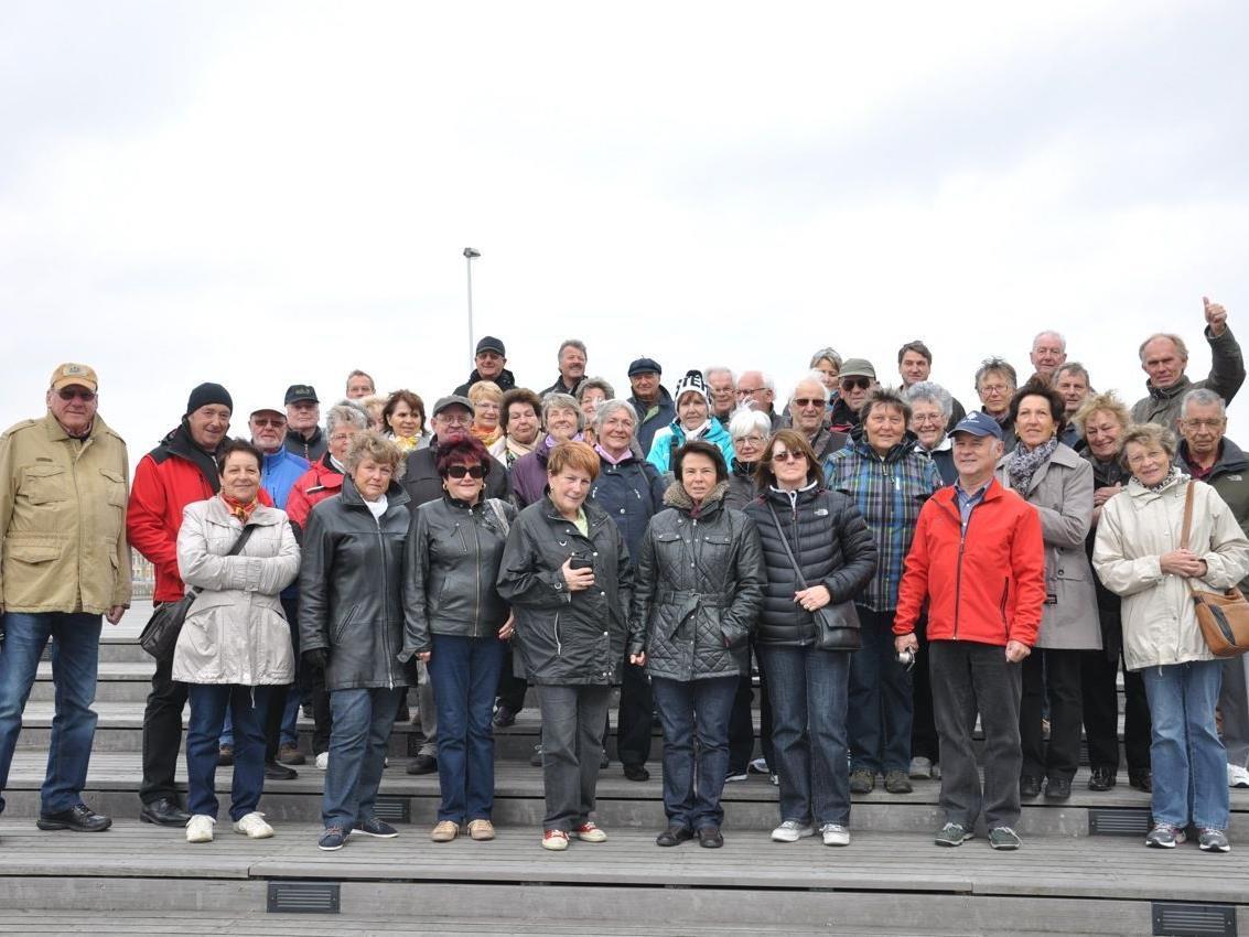 Reisegruppe aus Bregenz