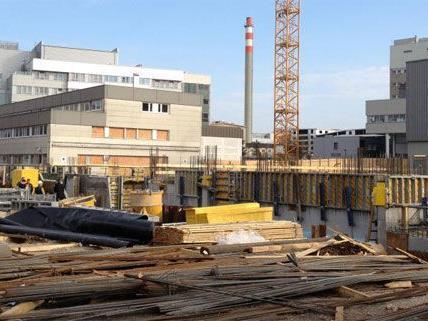 Tödlicher Arbeitsunfall auf einer Baustelle in St. Pölten.