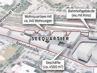 Die beiden Türme wurden auch als Verbindungsobjekt zwischen Vorkloster und Innenstadt geplant.
