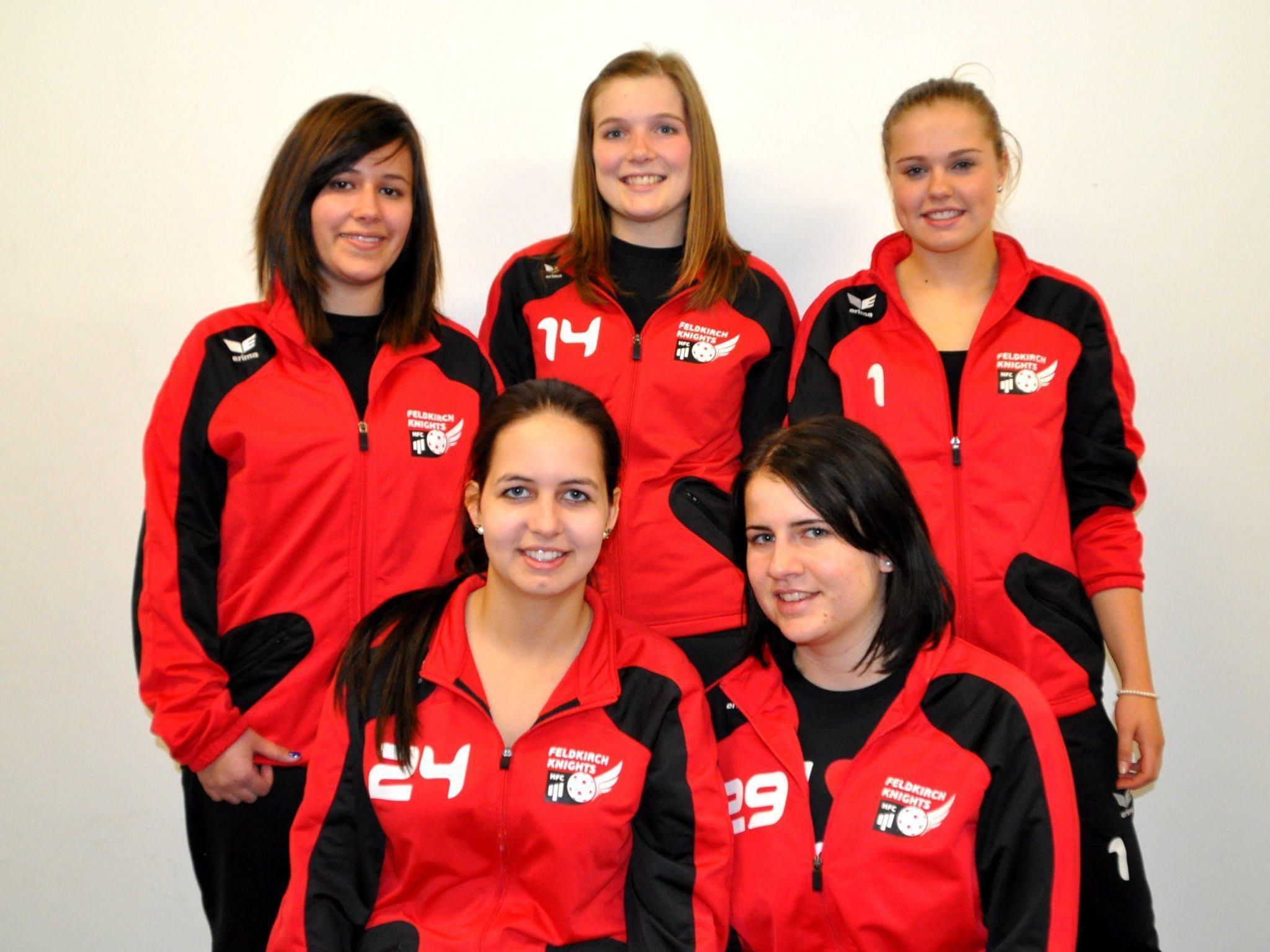Fünf Feldkircherinnen vertreten die Ländle-Farben bei der Unihockey U-19-WM in Nitra.