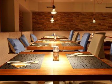 Vienna.at verlost ein Essen für zwei Personen im Tablet-Restaurant Viereck.