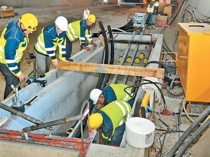 Vorarlberger Kraftwerke AB startet mit unterirdischen Hochspannungsleitungen.